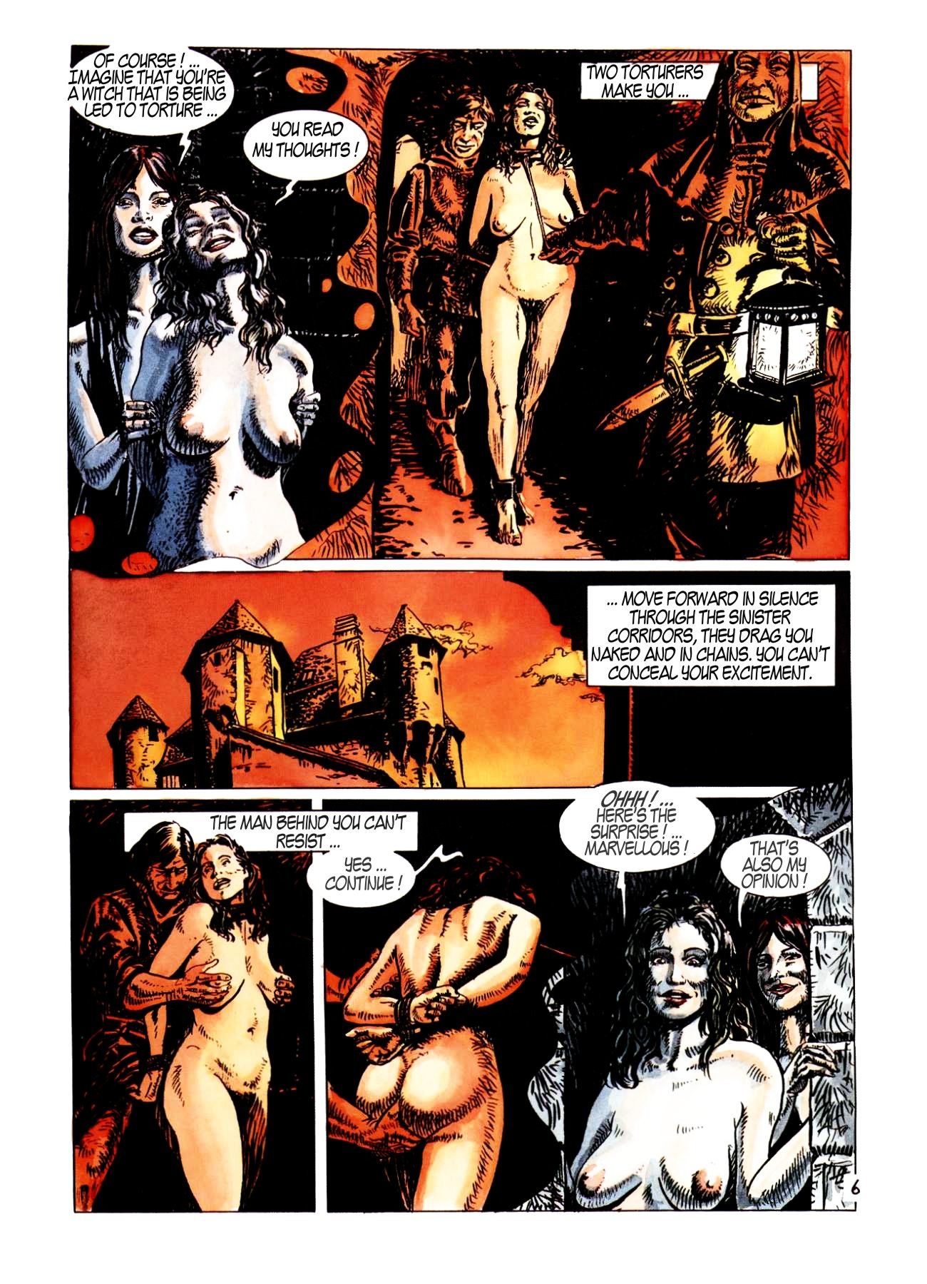 Medieval lady hentai erotica comic